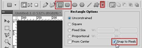 photoshop rectangle snap to pixel 01